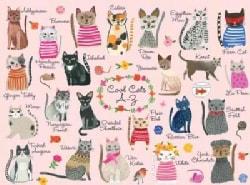 Cool Cats A-Z Puzzle: 1000 Pieces (General merchandise)