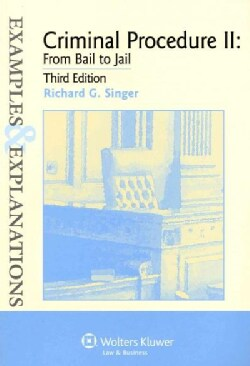 Criminal Procedure II: From Bail to Jail (Paperback)