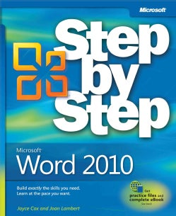 Microsoft Word 2010 Step by Step (Paperback)
