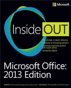 Microsoft Office 2013 Edition (Paperback)