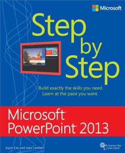 Microsoft Powerpoint 2013 Step by Step (Paperback)