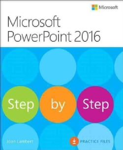 Microsoft Powerpoint 2016: Step by Step (Paperback)
