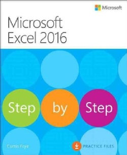 Microsoft Excel 2016 Step by Step (Paperback)