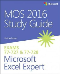 MOS 2016 for Microsoft Excel Expert (Paperback)