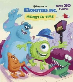 Monster Time (Board book)