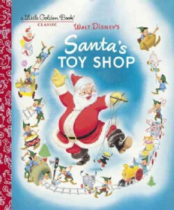 Walt Disney's Santa's Toy Shop (Hardcover)