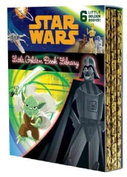 Star Wars Little Golden Book Library (Hardcover)