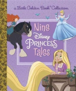 Nine Disney Princess Tales (Hardcover)