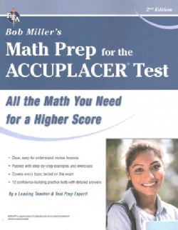 Bob Miller's Math Prep for the Accuplacer Test (Paperback)