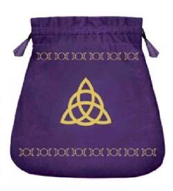 Triple Goddess Velvet Bag (Hardcover)