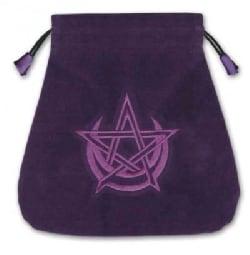 Pagan Moon Velvet Tarot Bag (Paperback)