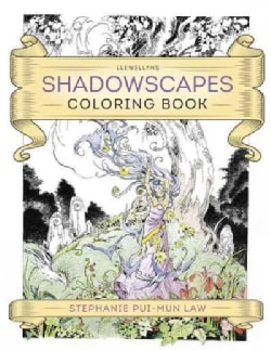 Llewellyn's Shadowscapes Coloring Book (Paperback)