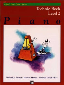 Alfred's Basic Piano Library Technic Book: Level 2 (Paperback)