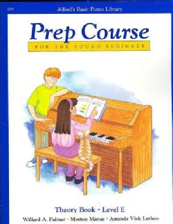 Alfred's Basic Piano Library Prep Course For The Young Beginner: Theory Book - Level E (Paperback)