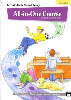 Alfred's Basic Piano Library All-In-One Course: Lesson - Theory - Solo (Paperback)