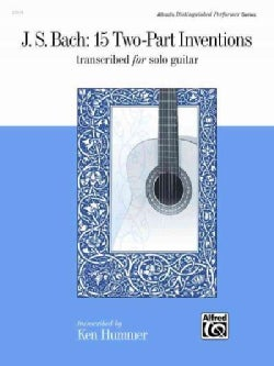 J. S. Bach: 15 Two-part Inventions Transcribed for Solo Guitar (Paperback)
