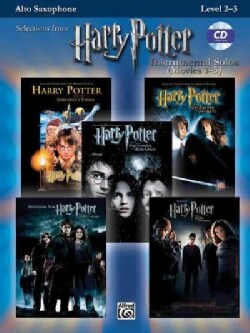 Harry Potter Instrumental Solos Movies 1-5: Alto Sax Level 2-3