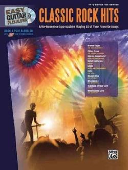 Easy Guitar Play-along Classic Rock Hits: Easy Guitar Tab Edition