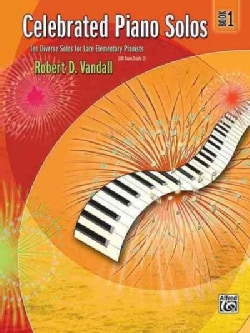 Celebrated Piano Solos Book 1: Ten Diverse Solos for Late Elementary Painists (Paperback)