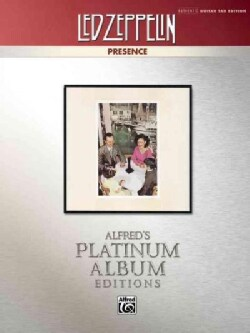 Led Zeppelin Presence: Authentic Guitar Tab Edition (Paperback)