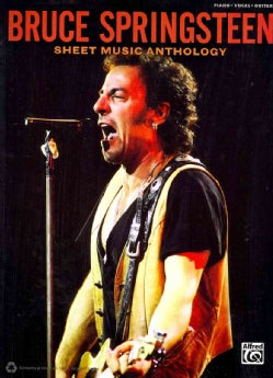 Bruce Springsteen: Piano/Vocal/guitar (Paperback)