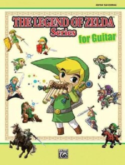 The Legend of Zelda Series for Guitar: Guitar Tab Edition (Paperback)