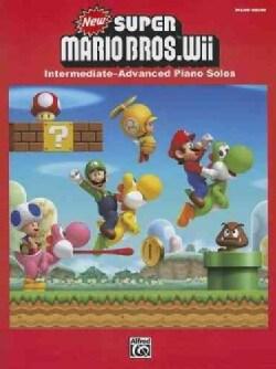 New Super Mario Bros. Wii: Intermediate / Advanced Piano Solos (Paperback)