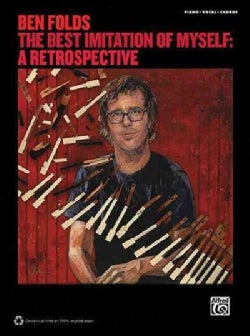 Ben Folds: The Best Imitation of Myself: A Retrospective Piano/Vocal/Chords (Paperback)