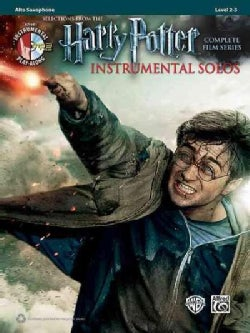 Selections from the Harry Potter Complete Film Series: Instrumental Solos: Alto Saxophone
