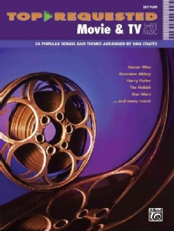 Top-Requested Movie & TV Sheet Music: Easy Piano (Paperback)