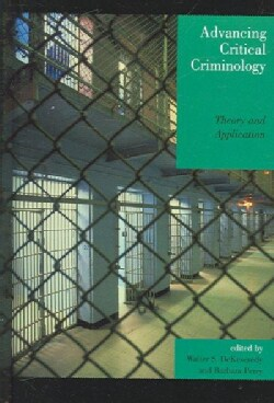 Advancing Critical Criminology: Theory And Application (Hardcover)