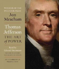Thomas Jefferson: The Art of Power (CD-Audio)