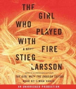 The Girl Who Played With Fire: A Novel (CD-Audio)