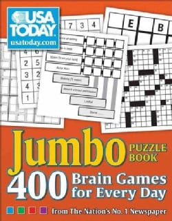 USA Today Jumbo Puzzle Book: 400 Brain Games for Every Day From the Nation's No. 1 Newspaper (Paperback)