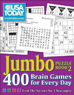 USA Today Jumbo Puzzle Book 2: 400 Brain Games for Every Day (Paperback)