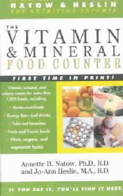 The Vitamin and Mineral Food Counter (Paperback)