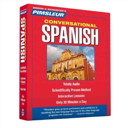 Pimsleur Conversational Spanish (CD-Audio)
