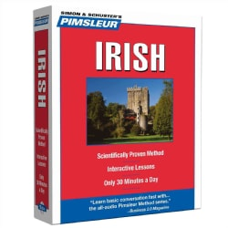 Irish, Compact: Learn to Speak and Understand Irish Gaelic With Pimsleur Language Programs (CD-Audio)