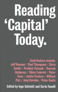 Reading Capital Today: Marx after 150 Years (Paperback)