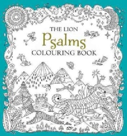 The Lion Psalms Colouring Book (Paperback)