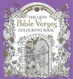The Lion Bible Verses Colouring Book (Paperback)