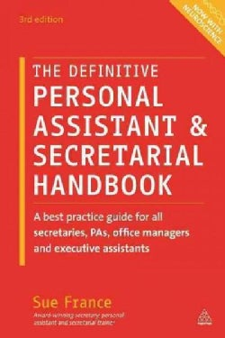 The Definitive Personal Assistant & Secretarial Handbook (Paperback)