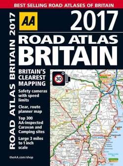 AA 2017 Road Atlas Britain (Paperback)