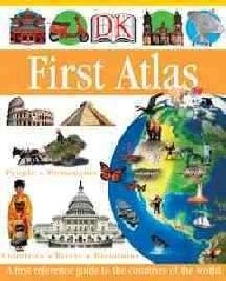 Dk First Atlas (Hardcover)