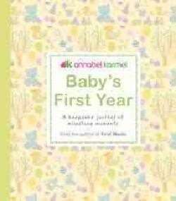Baby's First Year: A Keepsake Journal of Milestone Moments (Hardcover)