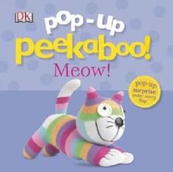 Pop-up Peekaboo Meow! (Board book)