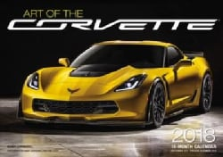 Art of the Corvette 2018 Calendar (Calendar)