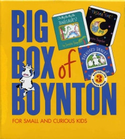Big Box of Boynton: Barnyard Dance! / Pajama Time! / Oh My Oh My Oh Dinosaurs! (Board book)