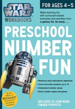 Star Wars Workbook Preschool Number Fun! (Paperback)