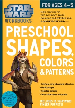 Star Wars Preschool Shapes, Colors & Patterns for Ages 4-5 (Paperback)